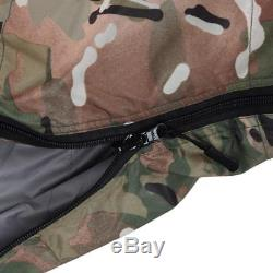 Military Camouflage Mummy Sleeping Bag Duck Down Survival Outdoor Necessity Bags