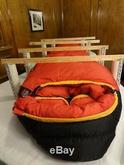 Minty Marmot CWM DL 775 FP Gore DryLoft -40° Down Long LZ Sleeping Bag +2Pads