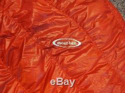 MontBell Down Hugger 800 fill #1 reg LH zip sleeping bag new withtags