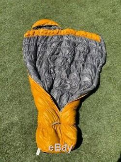 MontBell Down Hugger Sleeping Bag 800 Fill #2 Long Right Zipper 25°F