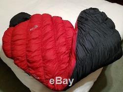 MontBell Ultra Light Super Spiral Hugger #0 degree 800 down sleeping bag long