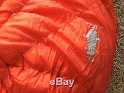 Mont Bell Sleeping Bag Ultra Light Spiral Down #1 Long. Lots Of Room Great Shape