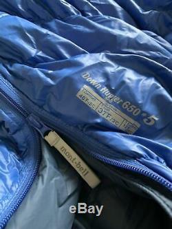Montbell Down Hugger 650 #5 Sleeping Bag