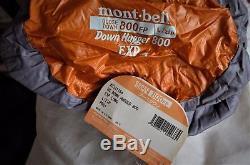 Montbell UL Super Spiral Down Hugger EXP (-20F) Sleeping Bag. Long, Left Zipper