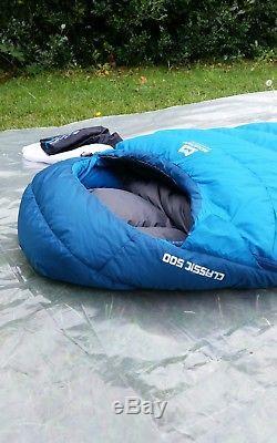 Mountain Equipment Classic 500 Down Insulated Lightweight Sleeping Bag superb