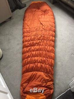 Mountain Equipment DREAMCATCHER 650 Down Sleeping Bag Orange