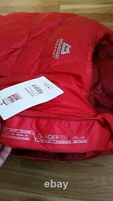 Mountain Equipment Glacier 700 Down Insulated Sleeping Bag New Condition