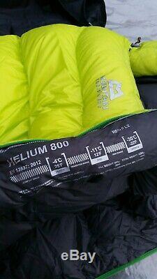 Mountain Equipment Helium 800 Ultralight 4-Season Down Sleeping Bag
