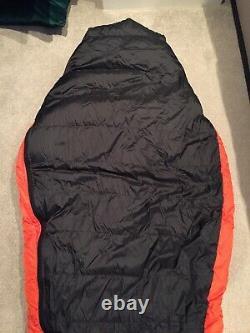 Mountain Equipment Snowline 750 Down Sleeping Bag Colour Orange/Black
