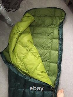 Mountain Equipment Spellbinder Down Sleeping Bag Green