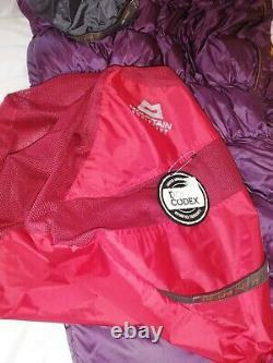 Mountain Equipment Womens Helium 250 Sleeping Bag LONG Left Zip