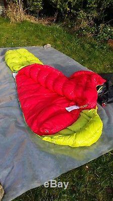 Mountain Equipment Zero 300 Ultralight Goose Down Sleeping Bag BNWT
