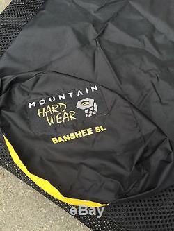 Mountain Hardware Banshee SL 0 degree sleeping bag 800 fill down