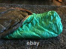 Mountain Hardware Heratio 32 Sleeping Bag 650 down fill, mummy style