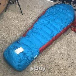Mountain Hardware Phantom 0 Gore-Tex Down Sleeping Bag Reg LH