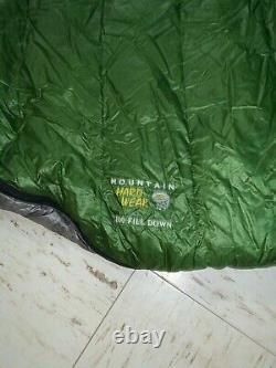 Mountain Hardware Phantom 45F Down Sleeping Bag, 800+ Fill, 6', RZ