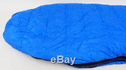 Mountain Hardwear 15 Degree Galaxy SL Reg 78x 30 600 Down Sleeping Bag Blue