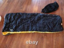 Mountain Hardwear Down Flip 35 / 50 Sleeping Bag Reversible & Opens to Blanket