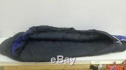 Mountain Hardwear Galaxy 20 Deg 600 Fill Down 80x30 Mummy Sleeping Bag Blue