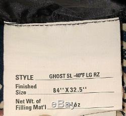 Mountain Hardwear Ghost -40C/-40F Down Mountaineering Sleeping Bag