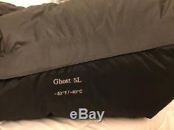Mountain Hardwear Ghost -40°f / -40°c Sleeping Bag Long Nwt