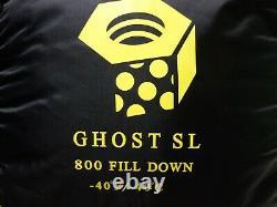 Mountain Hardwear Ghost SL 800 Fill Down Conduit SL Sleeping Bag -40f/-40c