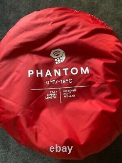 Mountain Hardwear Phantom 0F/-18C Ultra Light Sleeping Bag Reg Right New