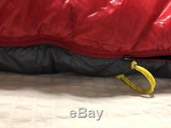 Mountain Hardwear Phantom 0 degree sleeping bag (mummy down long left zipper)