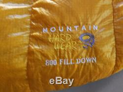 Mountain Hardwear Phantom 45 800fp Goose Down Sleeping Bag Regular Left -new