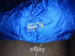 Mountain Hardwear Ratio 15 Degree Q. Shield Down Sleeping Bag regular right zip