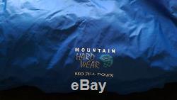 Mountain Hardwear down DryQ goretex hiking camping tent hunting tnf sleeping bag