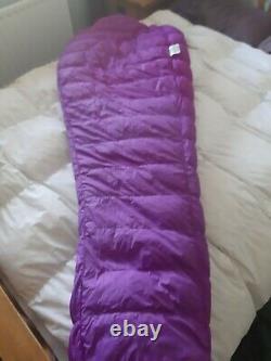 Mountain equipment Dewline Down Sleeping bag