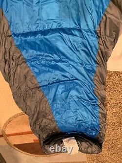 Mountainsmith El Diente 5 Degrees 650 Down Sleeping Bag NWT Lotus Blue