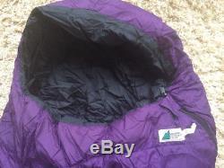Mountan Equipment Co-Op Down Mummy Sleeping Bag Purple
