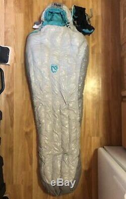 NEMO Aya 15 NEW womens down sleeping bag Backpacking Ultralight