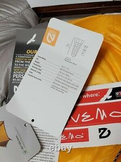 NEMO New England Mountain Equipment Siren 30 Ultralight Quilt Nylon Sleeping Bag