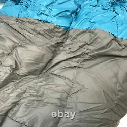 NEMO RAVE SLEEPING BAG With NIKWAX HYDROPHOBIC DOWN 15F (-9C) JADE/SEA GLASS, LONG