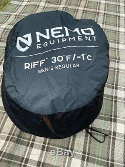 NEMO Riff 30 degree sleeping bag