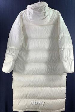 NEW Everlane The ReDown Sleeping Bag Puffer in Bone Size M #C412