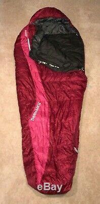 NEW Thermarest Mira HD 15 Ultralight 750 Down Sleeping BagWomen's RegularRuby