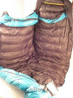 NEW Western Mountaineering Versalite 10 Degree 6 ft Down Mummy Left Sleeping Bag