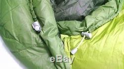 NEW with tags Marmot Never Winter Down Sleeping Bag Reg LZ 30 degree 3 season