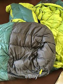 NWT NEW Nemo Ramsey 15°F Long Down Spoon Shaped Sleeping Bag Backpacking Hiking