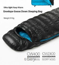 NatureHike Ultralight Envelope Sleeping Bag Goose Down Camping Sleeping Bags