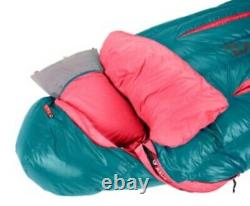 NeMo- Rave down 15°F sleeping bag (blue and pink) womens