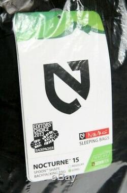 Nemo Equipment Nocturne 15F degree 700 Fill Down Long Sleeping Bag New