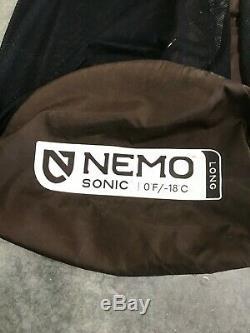 Nemo/ First Lite Stalker 0 degree Sleeping Bag