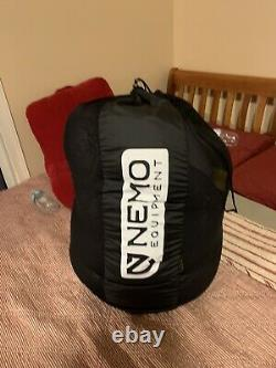Nemo Sonic 800-Fill Down Sleeping Bag REG 0 Degree And Nemo Astro Insulated Pad