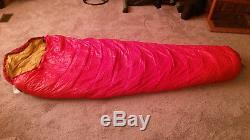 New Eddie Bauer 3.5 lb Down Mummy Sleeping Bag