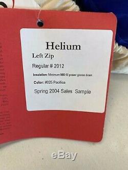 New WT Marmot Helium Mummy Sleeping Bag 15-F/-9c 900 fill down